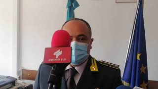 Piergiorgio Vanni è il nuovo comandante del comando provinciale Guardia di finanza Brindisi