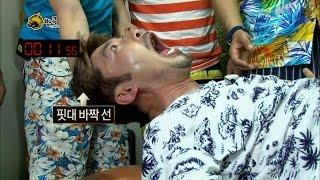 【TVPP】Noh Hong Chul - Experience Bangkok massage, 노홍철 - 무감각 홍철, 고통의 방콕 마사지 체험 @ Infinite Challenge