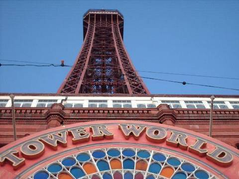 The Blackpool Tower Tour 2009 - YouTube