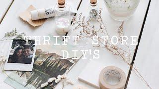 thrift store diy's   DIY FILES EP. 01