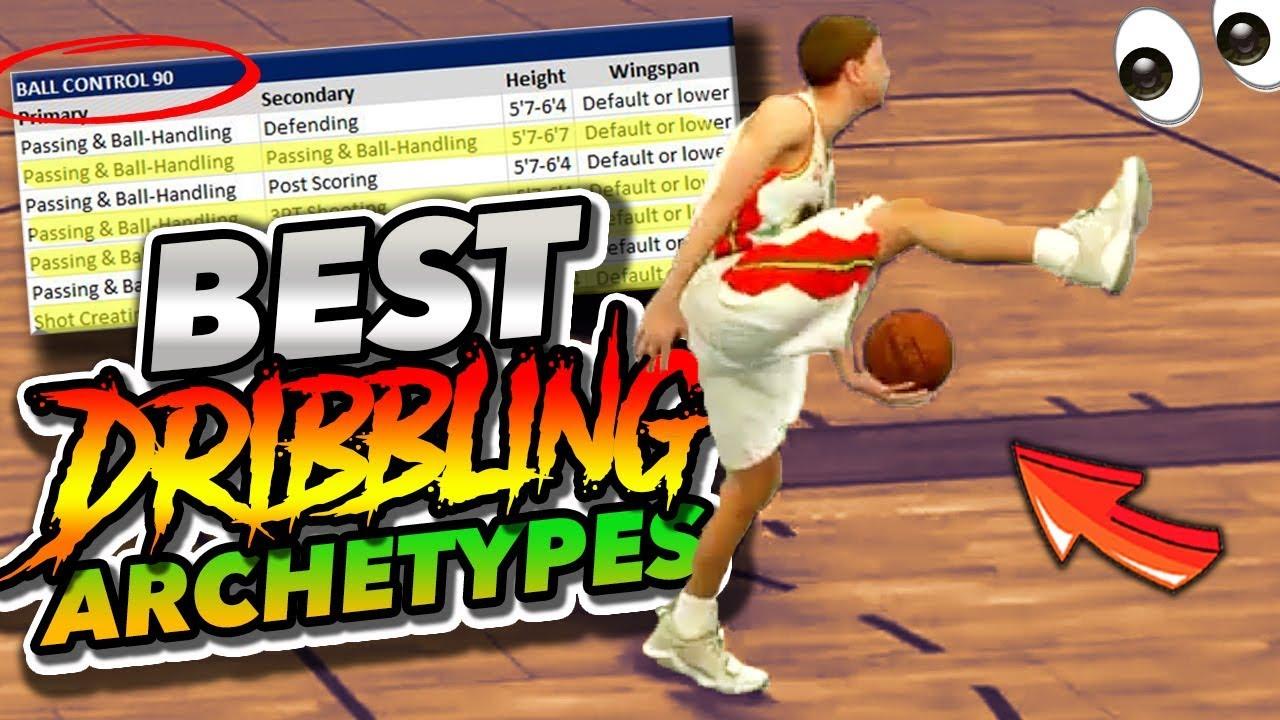 NBA 2K19 TOP 5 Ankle Breaking DRIBBLE GOD Archetypes