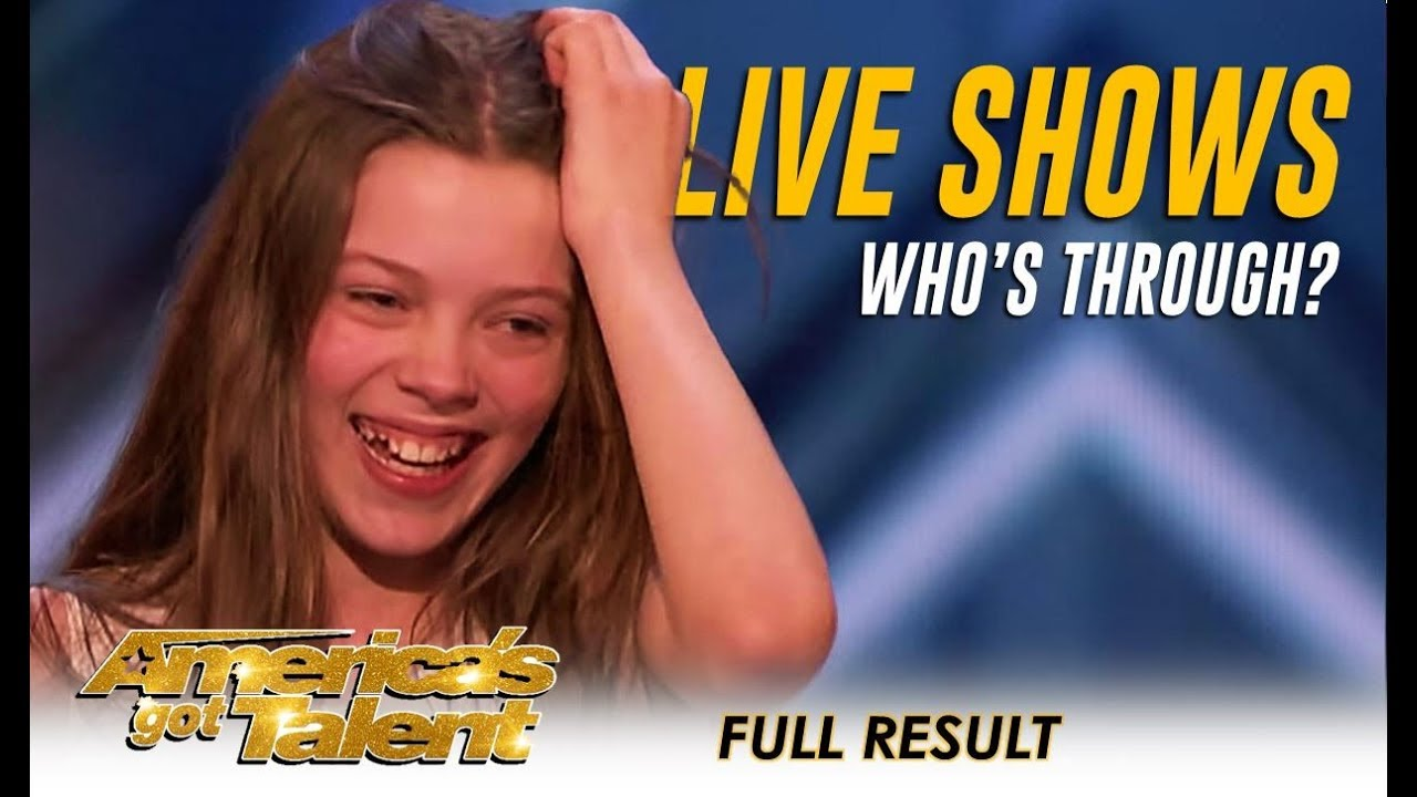 ALL ACTS Who Made It Through To The Live Shows | America's Got Talent 2018