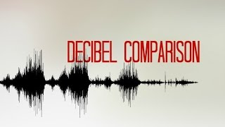 How Loud Is The Sound? [Decibel Comparison]