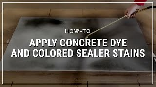 Gambar cover Fast, Easy Creative Color for Concrete Floors: How to Apply DCI Concrete Dye and Tinted Sealer