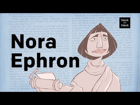Nora Ephron on Crazy Salad  Blank on Blank