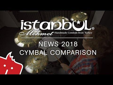 Istanbul Mehmet 2018 cymbal comparison & Dušan Černák