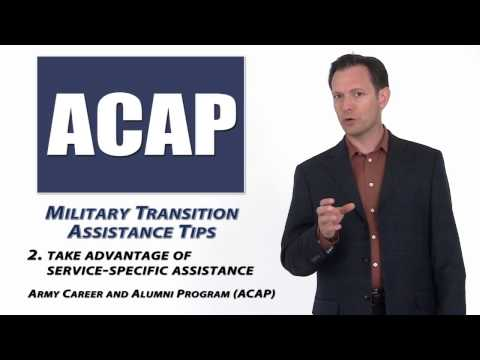 Military Transition Assistance - Where To Go