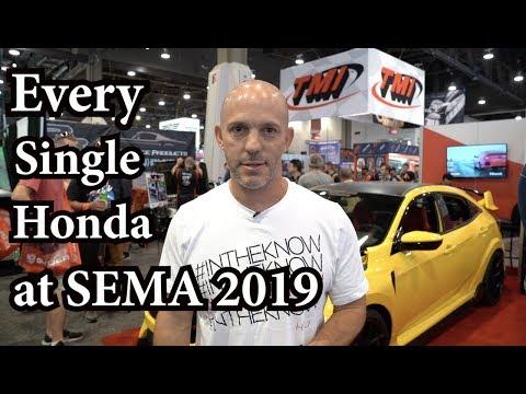 Every Single Honda At The SEMA Show 2019 In Las Vegas