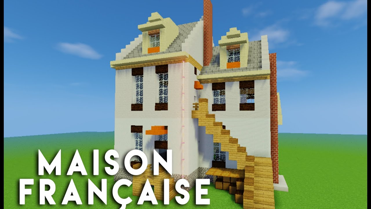 Minecraft construction d 39 une maison fran aise youtube - Construction minecraft maison ...
