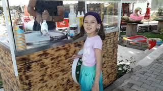Мороженое на улице. Турция Сиде