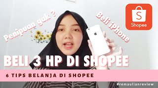 Gambar cover 6 Tips Belanja Di Shopee   Belanja iPhone di Shopee