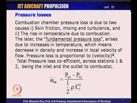 Mod-05 Lec-25 Pr. Loss, Combustion efficiency; Combustion intensity