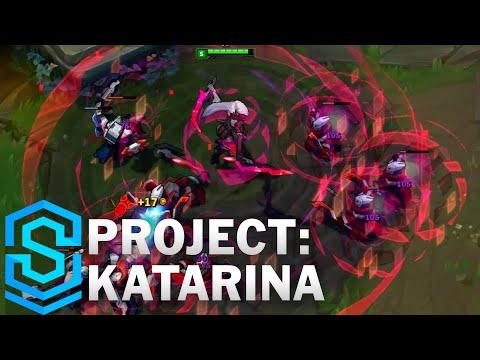 (OLD) PROJECT: Katarina Skin Spotlight - League of Legends