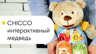 CHICCO интерактивный медведь. Обзор игрушки Кико(Чико) Теди.