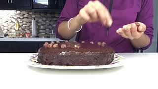 Part 2 - Chocolate Hazelnut Birthday Cake Lapse [gluten-free, dairy-free]