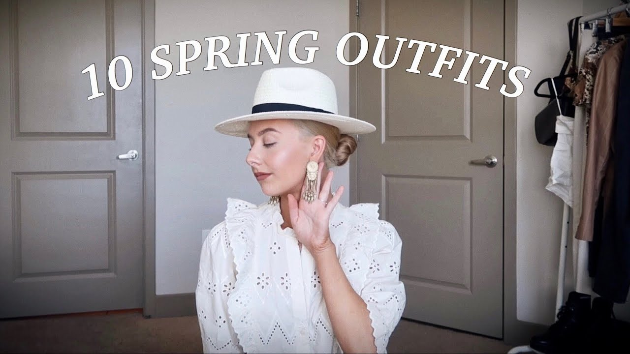 10 SPRING OUTFIT IDEAS 2019 | SPRING OUTFIT INSPIRATION | 1