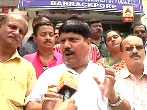 Arjun Singh goes to Barrackpore commissionarate to complain about yesterday;s incident