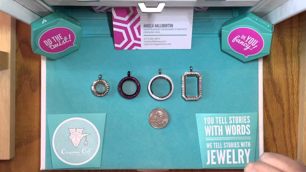 Origami Owl Living Locket Size and Price Chart; showing different ... | 720x1280