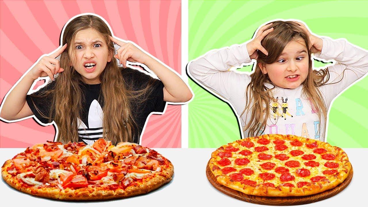 Twin Telepathy Pizza Challenge Jkrew Youtube