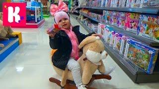 ВЛОГ торгово развлекательный центр покупаем игрушки играем на детской площадке shopping kid's store
