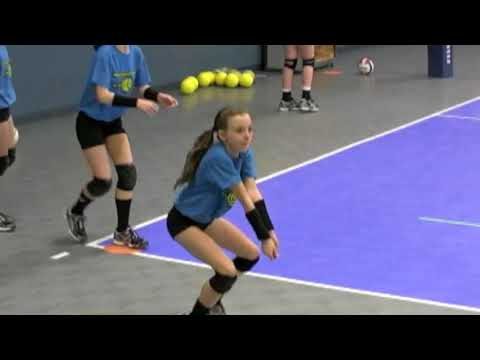 Munciana Peppers Youth Volleyball Training  Pt  3
