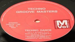Techno Groove Masters - Techno Dance (A1)(1993)