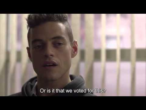 "Mr.Robot ""Fuck Society"" Speech"