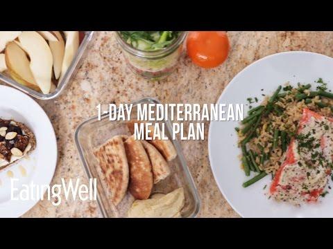 1-Day Mediterranean Meal Plan