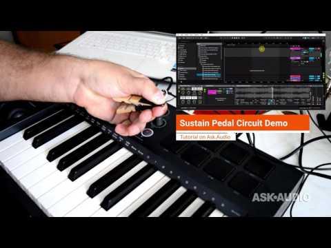 DIY MIDI Sustain Pedal Circuit