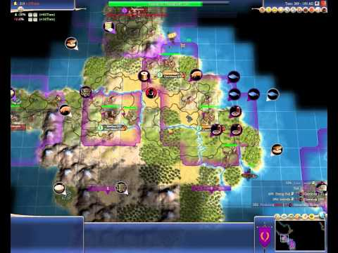 Let's play Civilization 4 (Game 3/ Part 4)