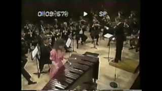 Evelyn Glennie plays Ney Rosauro Marimba Concerto I