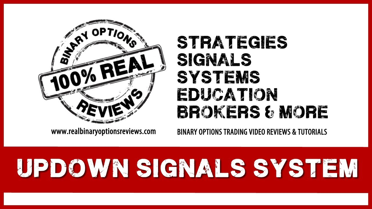 Binary options trading signals strategy