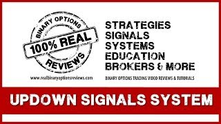 UpDown Signals - Binary Options Trading Strategy!