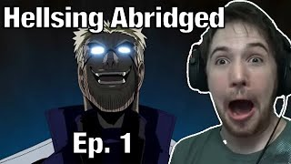 Video PUT MY HEAD IN YOUR BOOBS - Noble Reacts to  TFS  Hellsing Ultimate Abridged Episode 1 download MP3, 3GP, MP4, WEBM, AVI, FLV Juli 2018