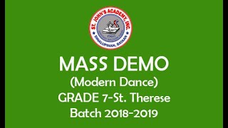 GRADE 7 - ST. THERESE 2018