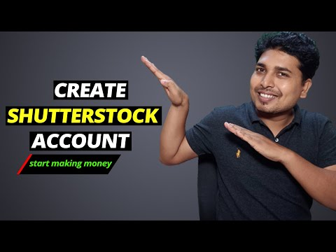 Creating Shutterstock Contributor Account For Selling Photos & Videos