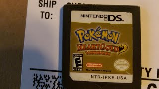 Fake Pokémon HeartGold Nintendo DS Game from GameStop - #CUPodcast