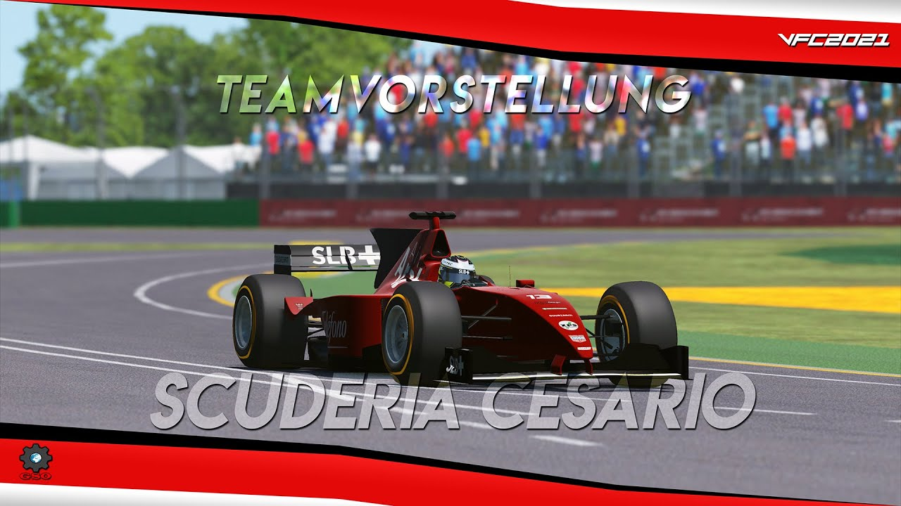 Virtual Formula Championship 2021 - Air Arab Cesario Teamvorstellung