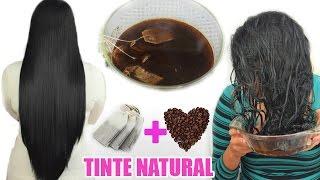 TINTE NATURAL Y CASERO PARA CUBRIR LAS CANAS Y PINTAR EL CABELLO ❤Cabellos Oscuros ❤ thumbnail