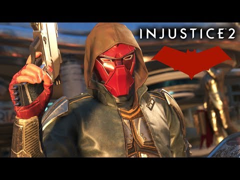 Injustice 2 RED HOOD Multiverse Gameplay Live Stream (Xbox One S)