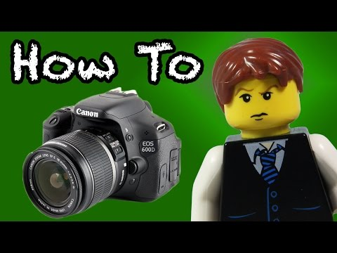 LEGO Stop-Motion DSLR Camera Tutorial