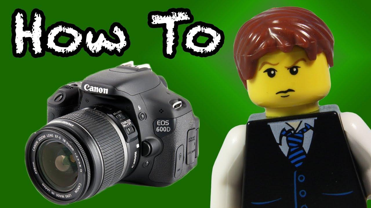 LEGO Stop-Motion DSLR Camera Tutorial - YouTube