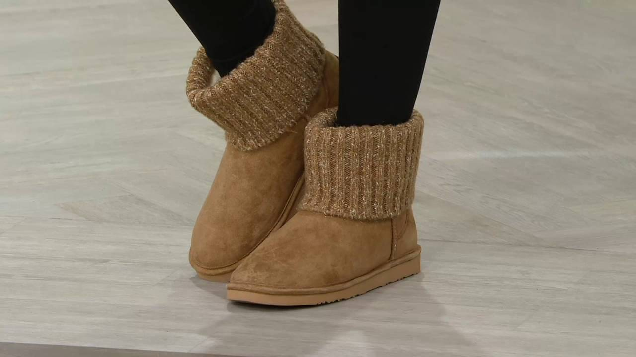 Lamo Water Resistant Suede Faux Fur Tall Boots - - Savoy free shipping low price discount 100% authentic huge surprise HbyZ9n