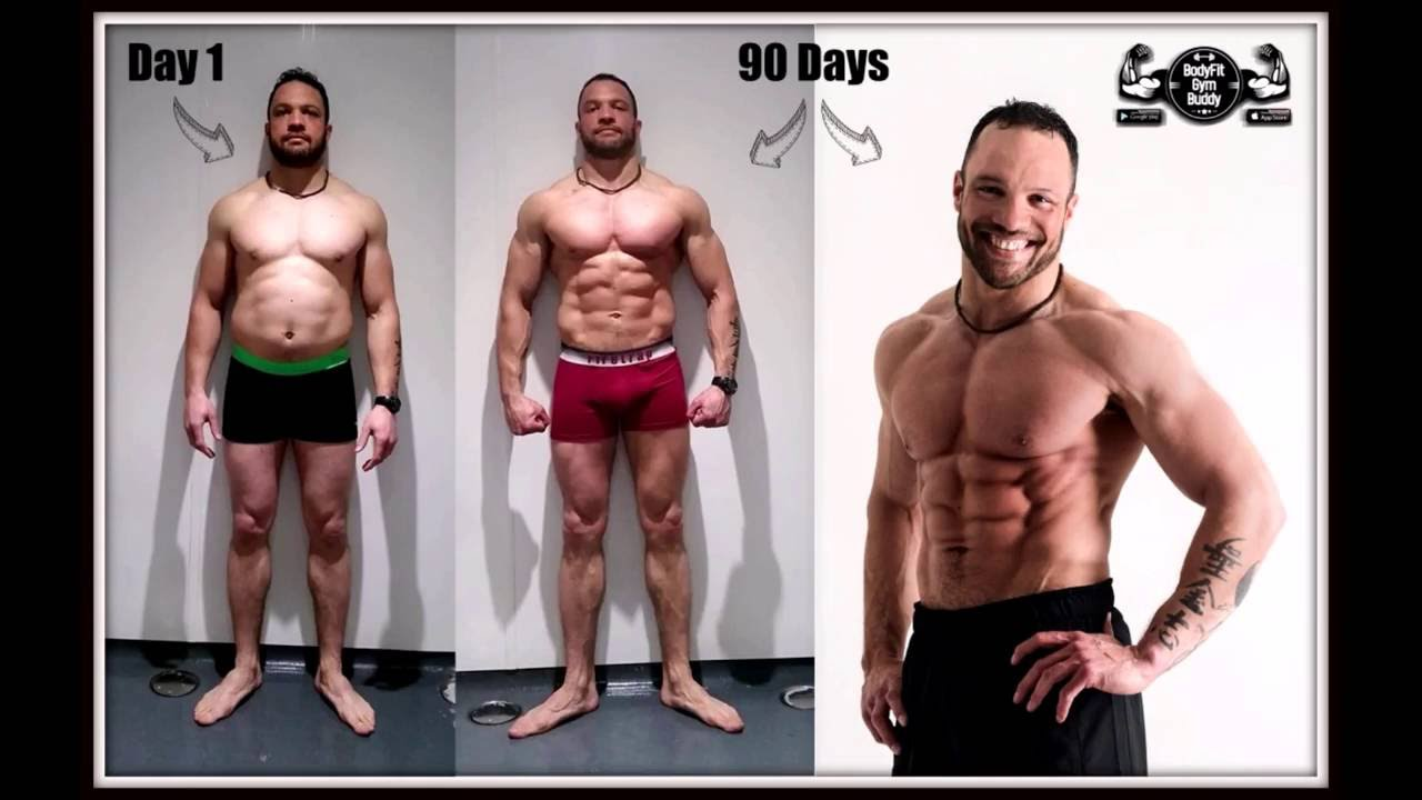 My 90 Day Body Transformation With Free Program Download Youtube
