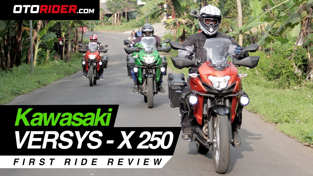 kawasaki versys x 250 2017 first ride review indonesia otorider supported by x road youtube. Black Bedroom Furniture Sets. Home Design Ideas