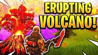FORTNITE WILL IT HAPPEN?! VOLCANO EVENT! Part#3 Season 6! (Fortnite Battle Royale)