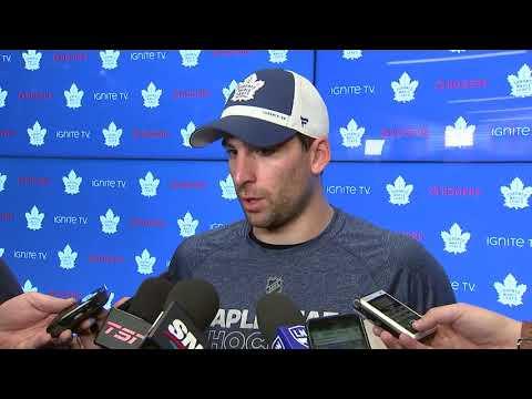 Maple Leafs Post-Game: John Tavares - November 19, 2018