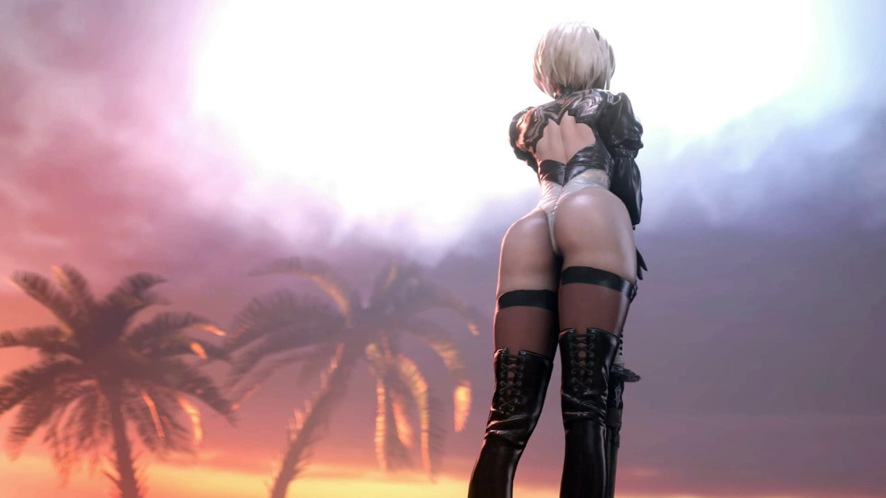 Dreamscene Anime Video Wallpaper Nier Automata Sexy 3 Animated Wallpaper Dreamscene