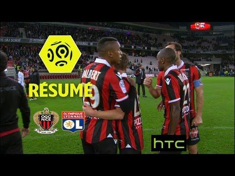 OGC Nice - Olympique Lyonnais (2-0)  - Résumé - (OGCN - OL) / 2016-17