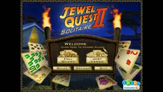Jewel Quest Solitaire II PC Game Soundtrack OST 7. The Mansion